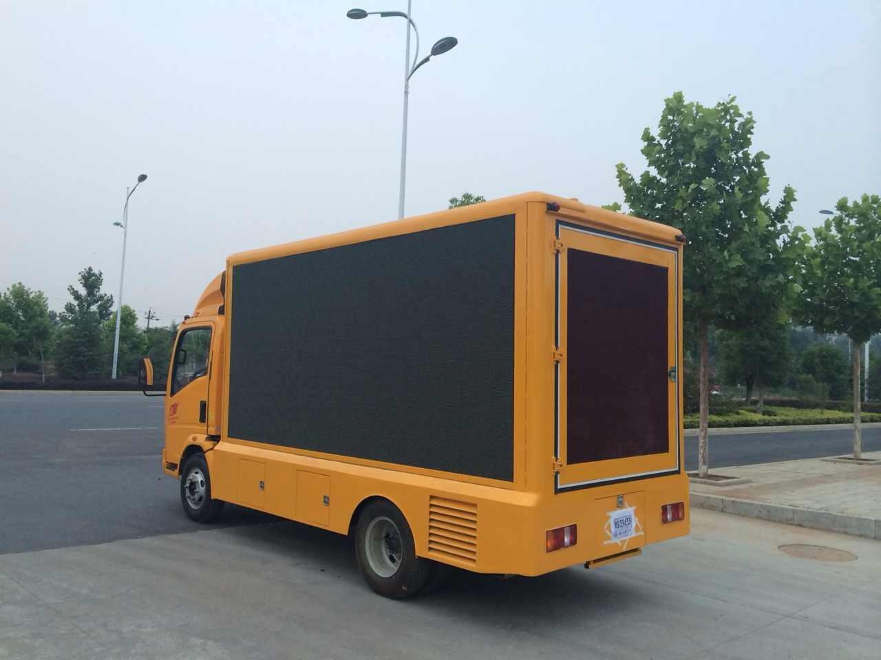 泉州长福介绍LED宣传车的优势