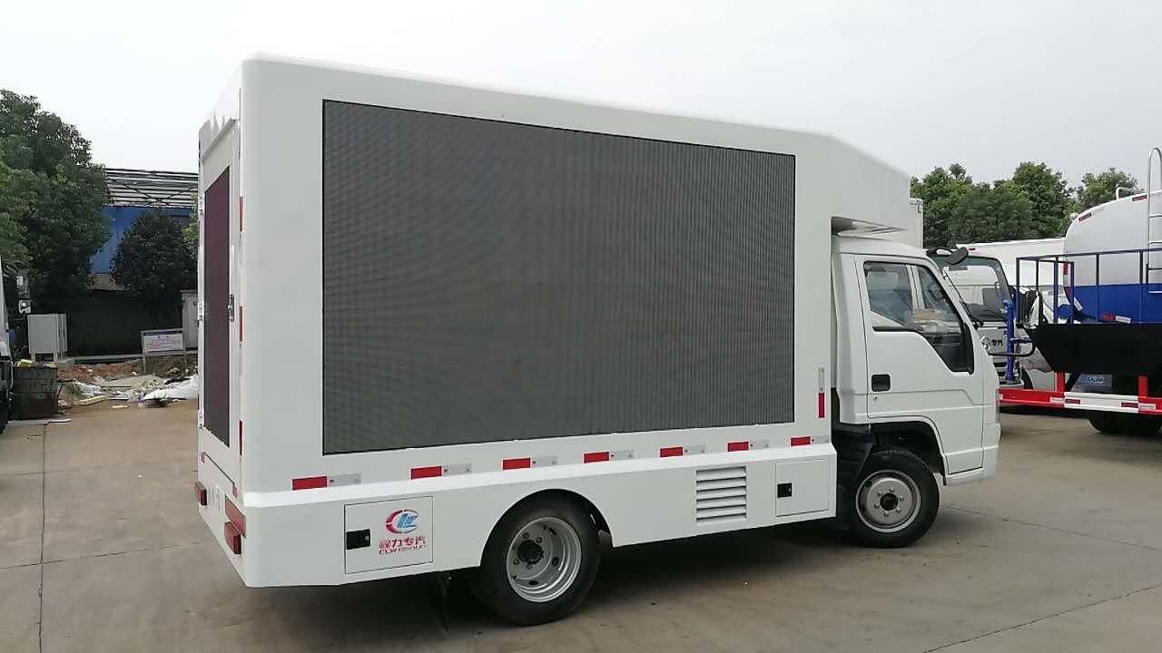 泉州租赁一台LED广告车多少钱?长服需依据不同情况收取
