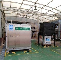昆山某工业有限公司污泥干化设备购买案例