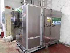 烟台某空调压缩机有限公司污泥干化设备购买案例