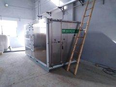 安徽清科瑞洁新材料有限公司污泥减量服务案例