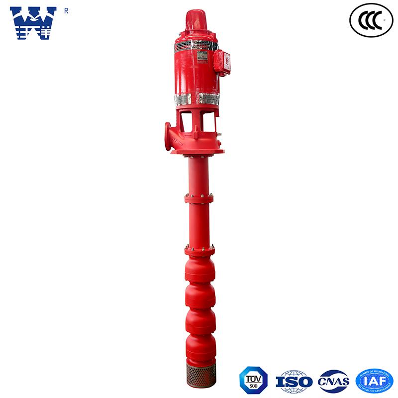 干式长轴消防泵