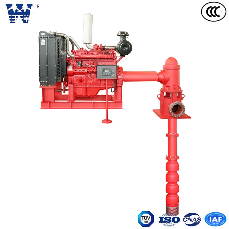 柴油机深井消防泵