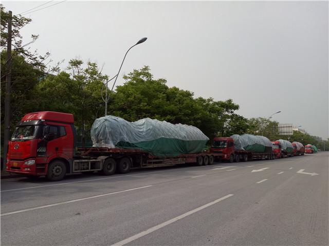京东方生产线项目运输物流