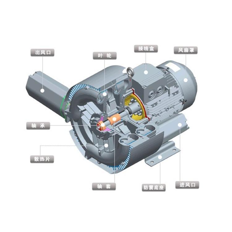 旋涡气泵分解图