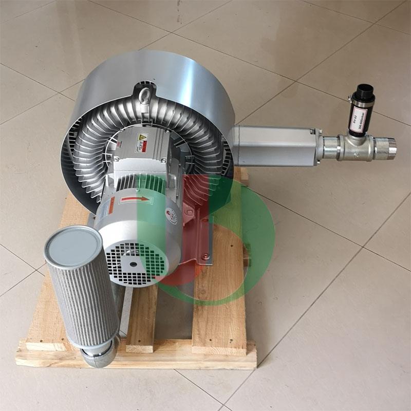 漩涡气泵过滤器及释压阀安装形式