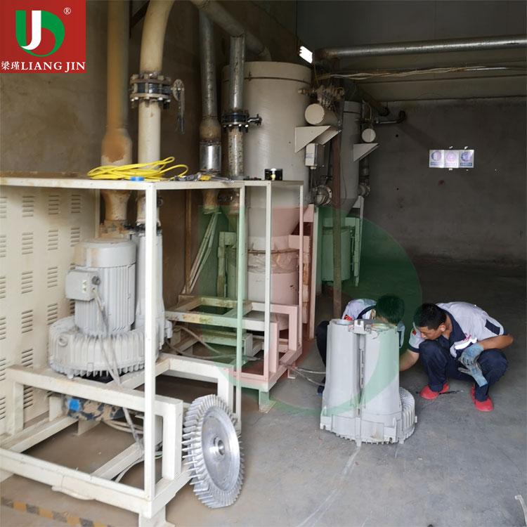 废气处理高压风机应用案例现场