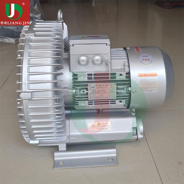 4KW工业大风量高压漩涡鼓风机 高压漩涡风机生产 低噪音漩涡风机销售