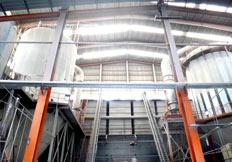 氧化锆珠生产车间