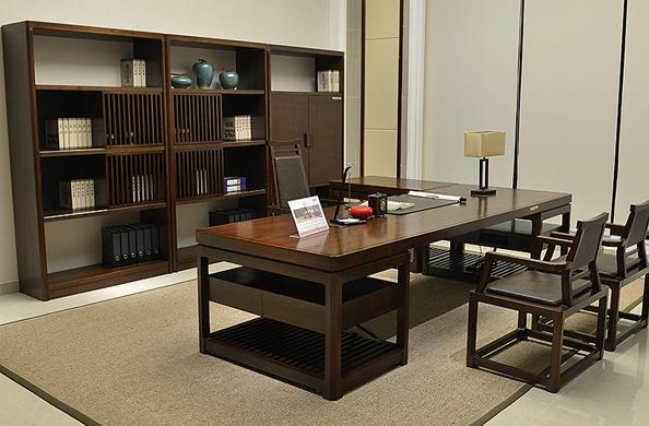 新中式办公桌椅