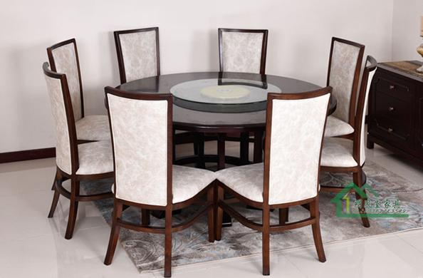 现代新中式餐桌椅