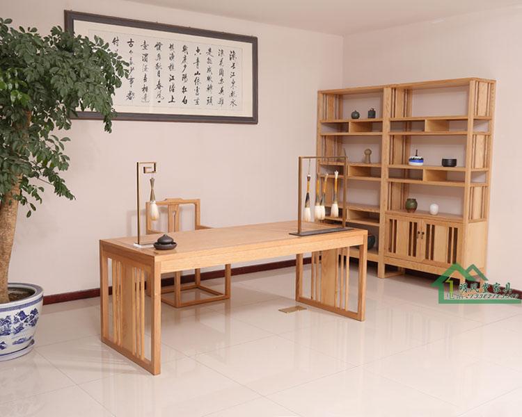 新中式实木书桌椅价格
