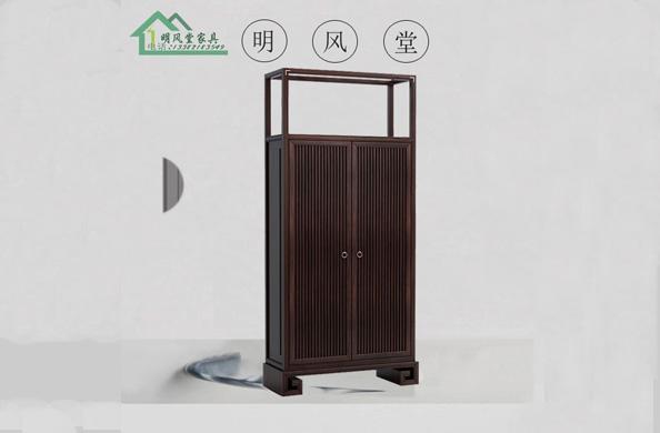 新中式实木衣柜