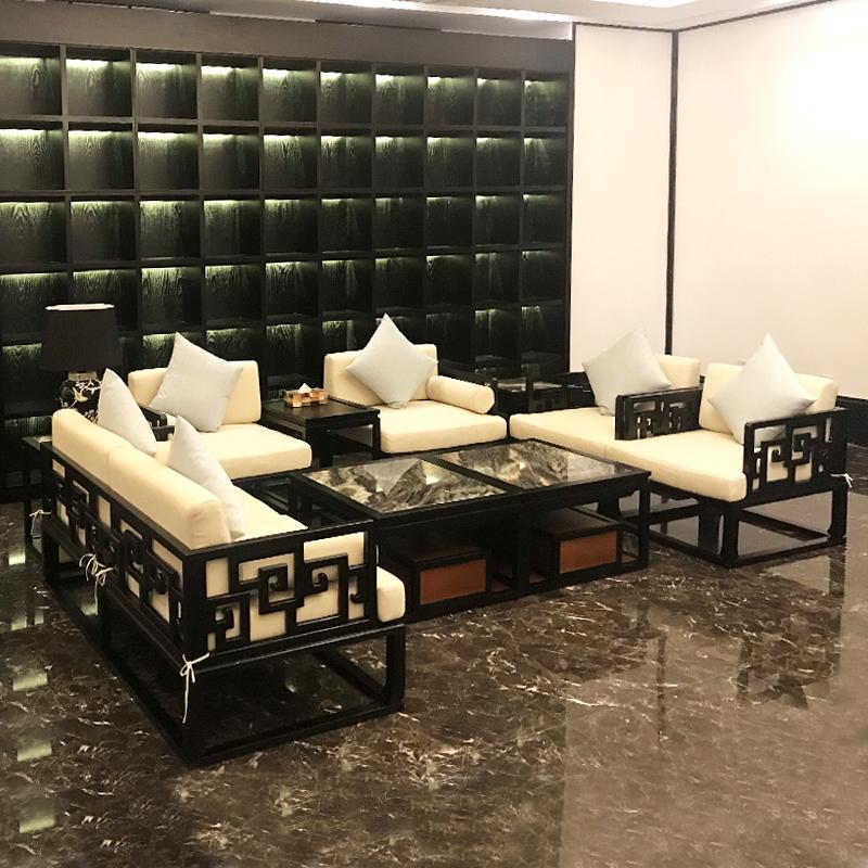 新中式客厅沙发