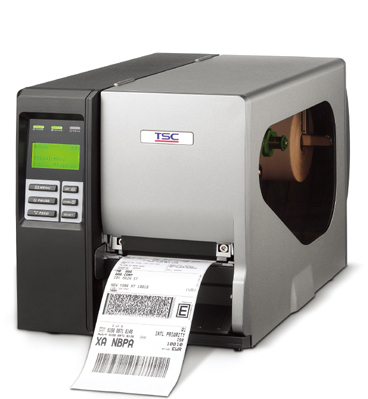 TSC 2410MU工业条码打印机标签打印机