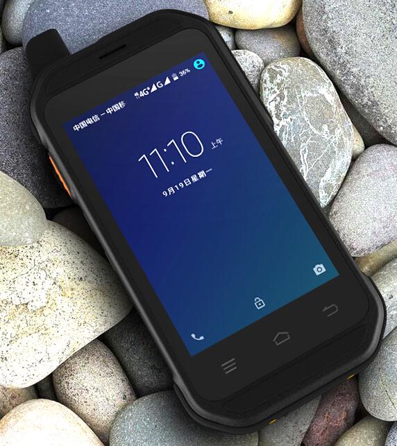 荣创G01A  安卓pda户外三防手持行业终端 对讲机
