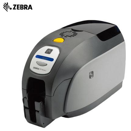 zebra斑马  ZXP series 3C彩色单面/双面证卡打印机会员卡ID制卡机