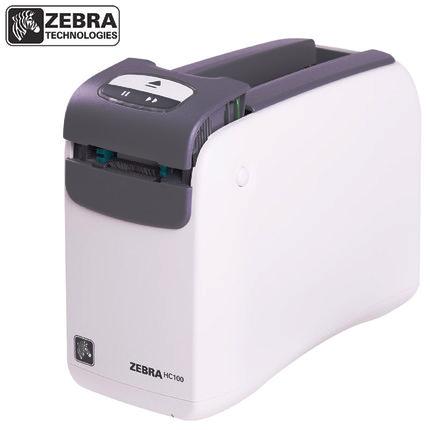斑马zebra HC100医疗专用腕带打印机条码打印机
