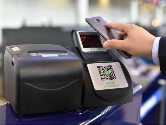 机场安检扫码机嵌入二维扫描模块,可刷二维码过安检