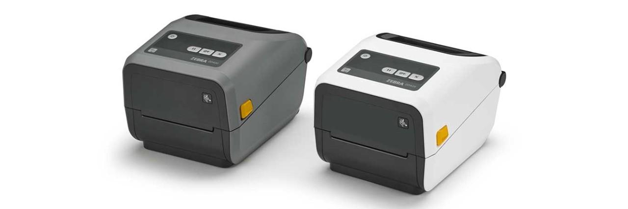 zebra斑马ZD420 桌面打印机实拍图片