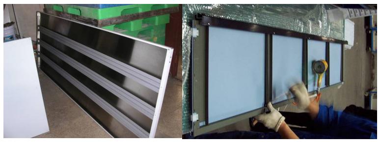 3M VHB用于板材加强筋的粘接