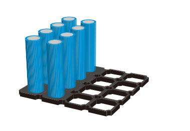 DP125用于圆柱型电池粘接