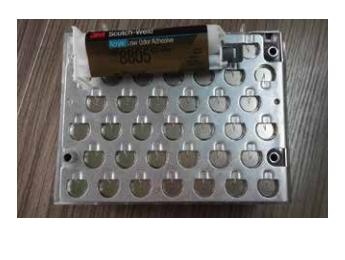 DP8805用于固定汇流板与支架
