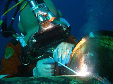 水下焊接工程如何降低危险性?专业很重要