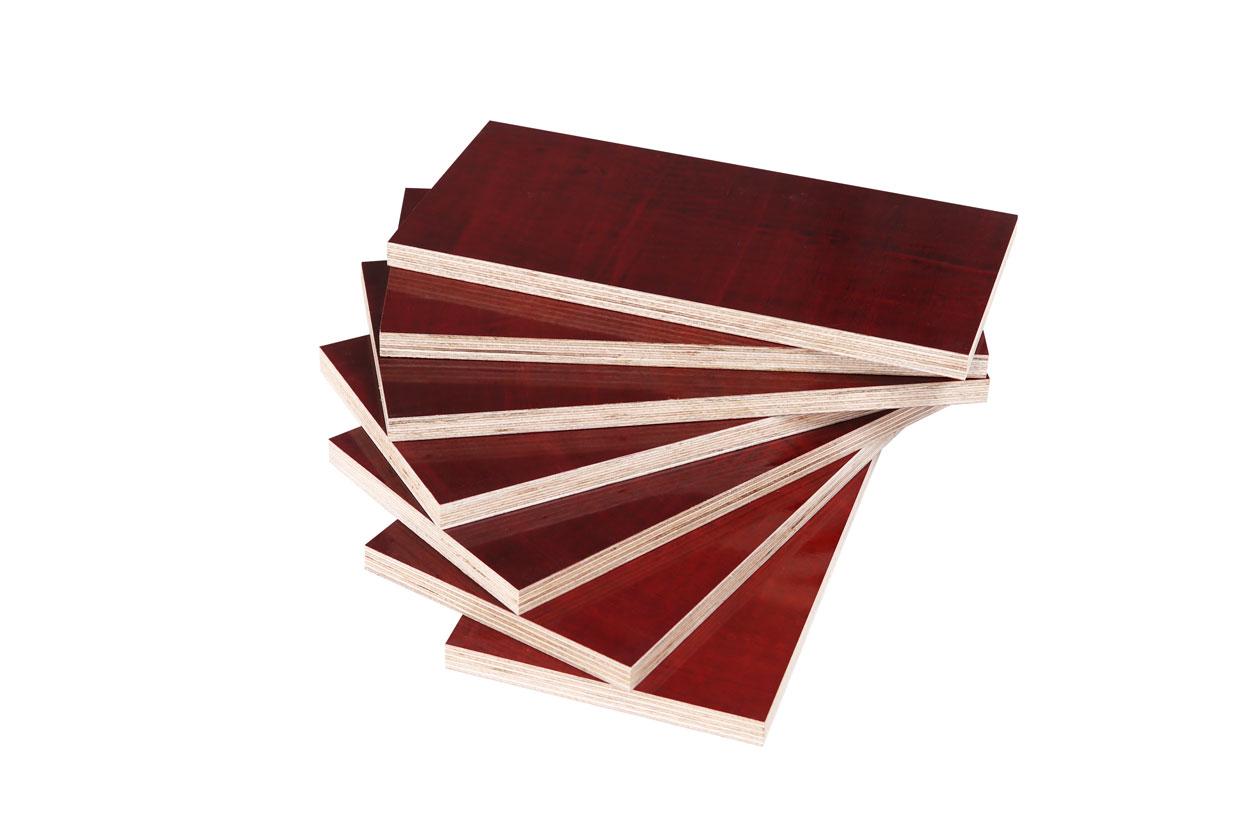 紅色建築模板