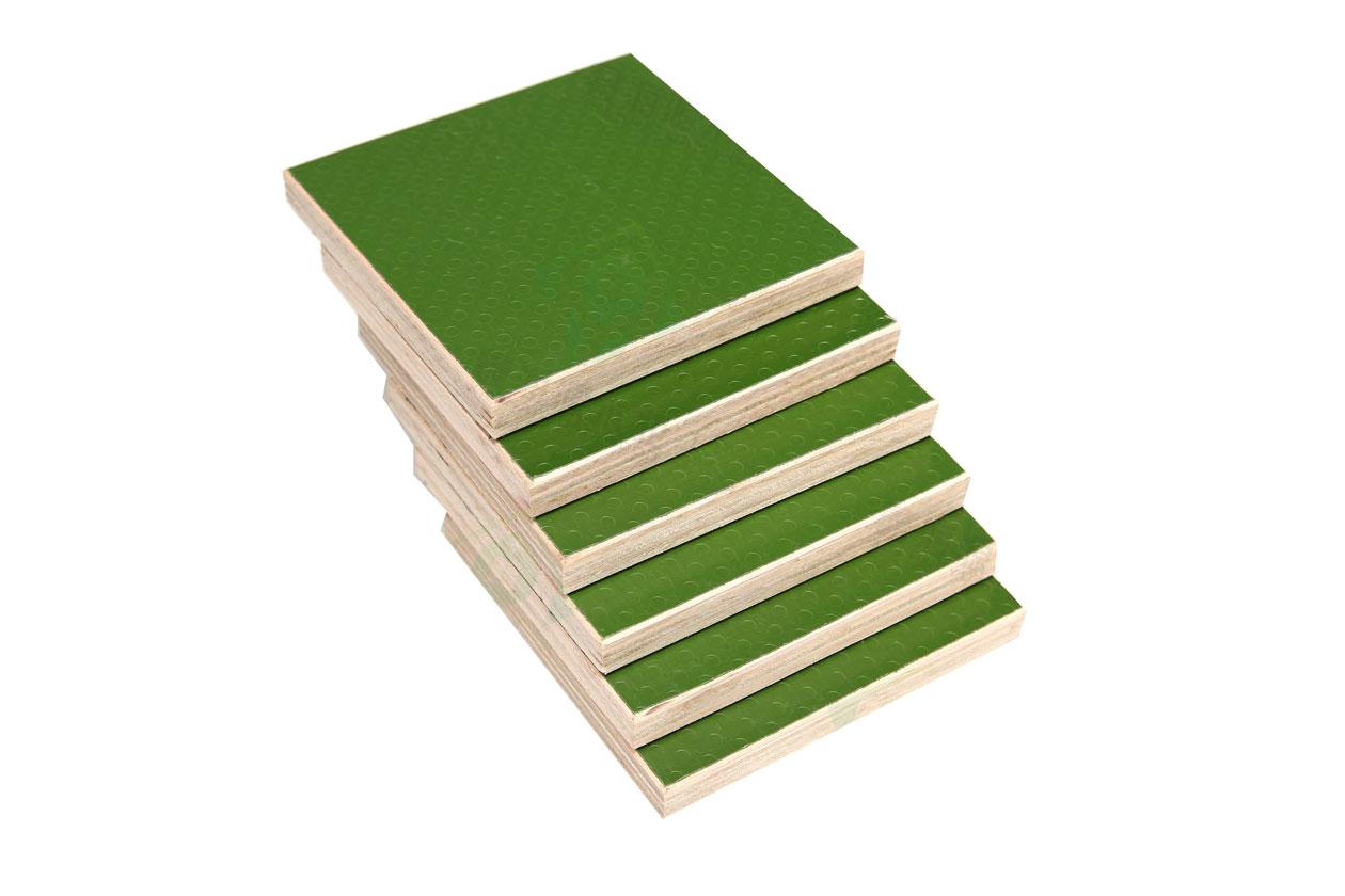 绿色建筑模板木塑板防滑建筑模板