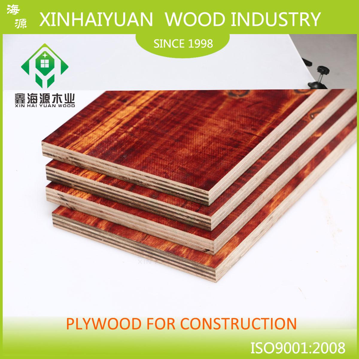 深圳桉木建筑模板-红板