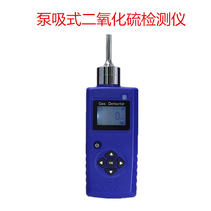 泵吸式二氧化硫气体检测仪