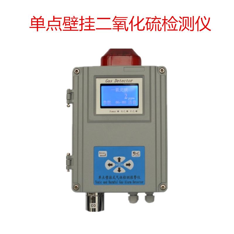 新款-壁挂式二氧化硫气体报警器