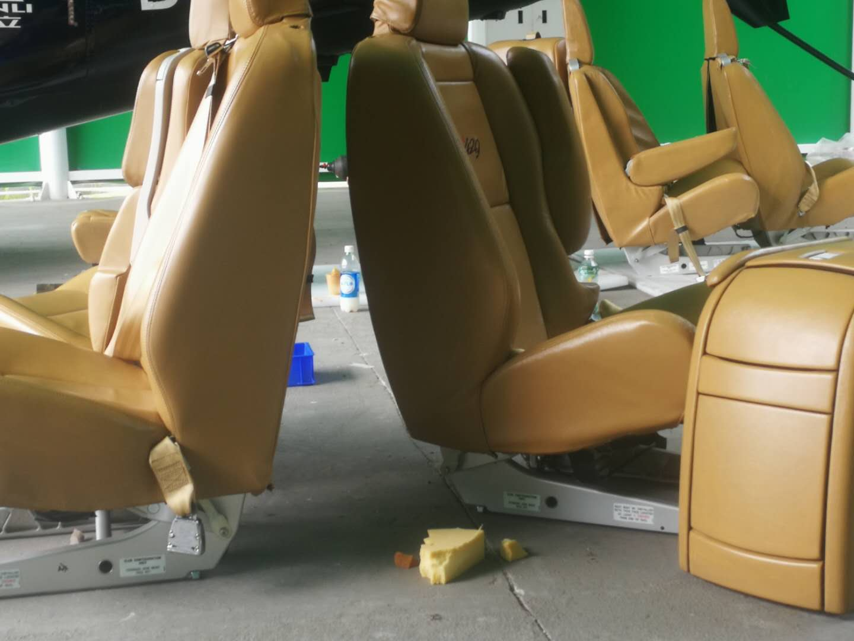 上海直升飞机座垫修补