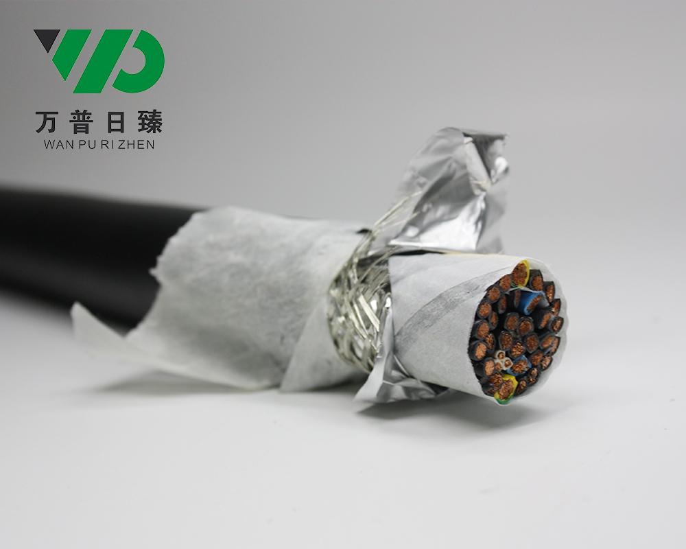 拖链电缆铝箔屏蔽电缆