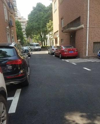 上海徐家汇花园道路改造