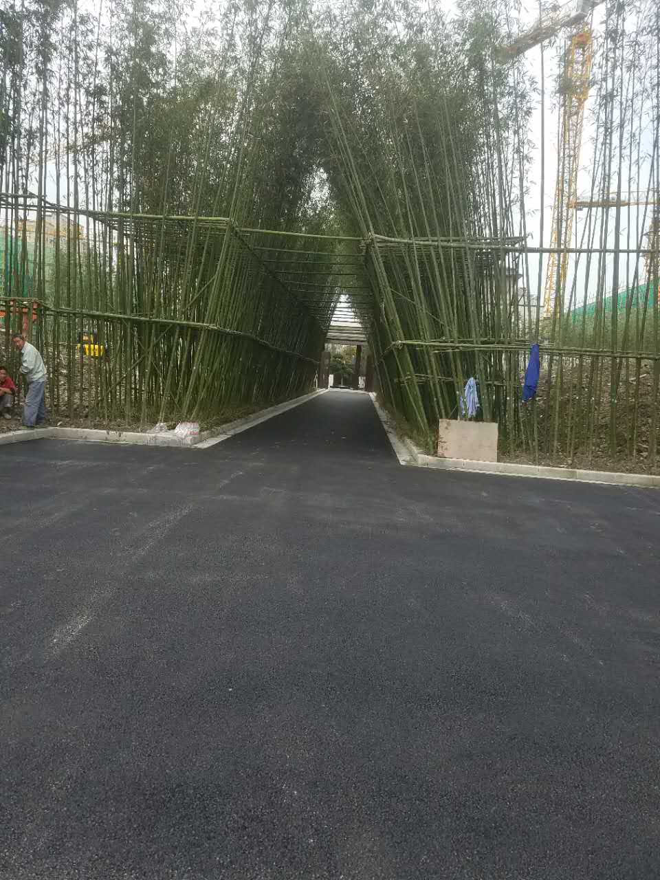 青浦区捷克住宅小区新万博manbetx官网登录路面摊铺
