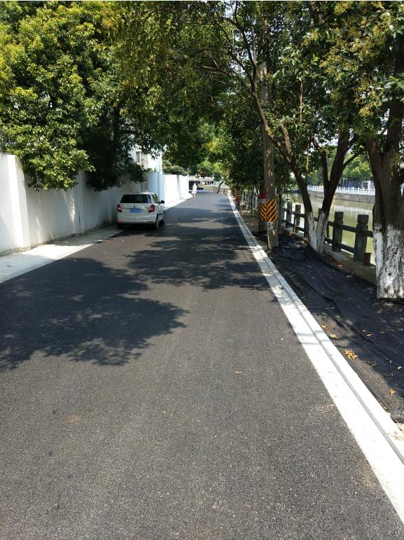 嘉定环城河道路改造
