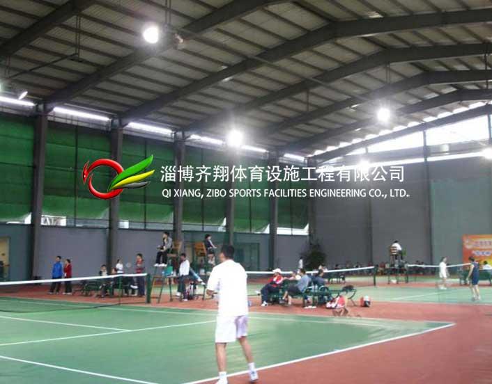 济宁乐天俱乐部羽毛球场