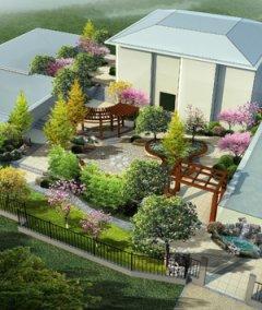 2200平私家花园景观设计