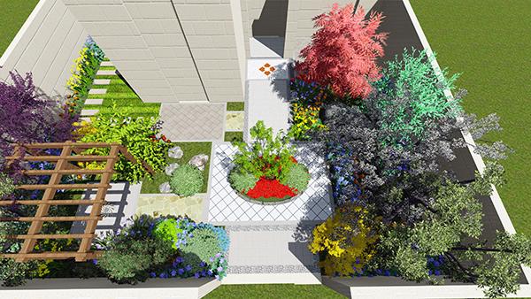秘密花园景观设计效果