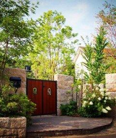 日式别墅庭院景观