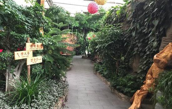 生态酒店景观设计效果图