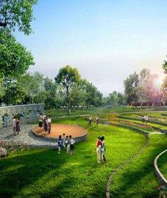 公园园林景观设计效果图