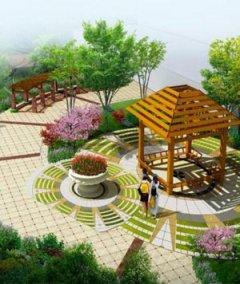 广场景观设计效果图