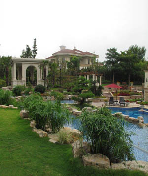 花园景观设计应该怎么样进行搭配?