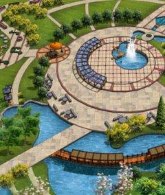 公园广场景观设计图