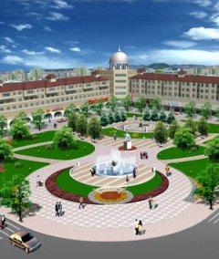 公园广场景观设计实体图