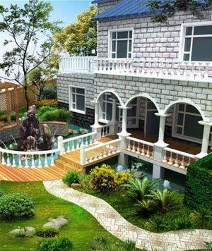 别墅花园设计装修需要注意哪些?