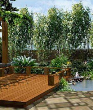私家花园设计实体图